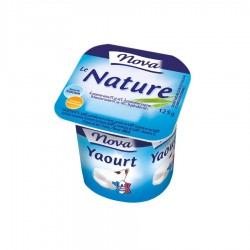 Yaourt nature vitamine D 1 - 125 g x 4