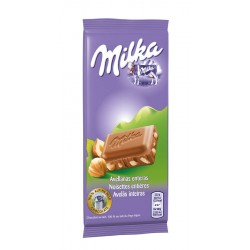 Mini tablette lait-noisette Milka 45 g