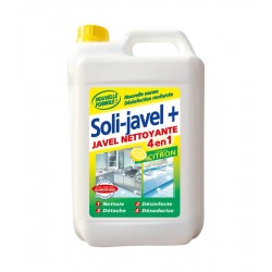 Javel nettoyante citron Solijavel+ 4 en 1 5 L