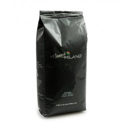Café grand milano espresso 95% arabica 5% robusta grains 1 kg