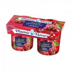 Yaourt cerise-griotte Gourmand® 150 g x 2