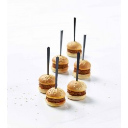 Plateau mini cheeseburgers x 45