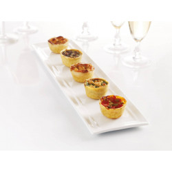 Assortiment de mini quiches