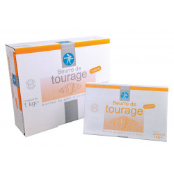 Beurre de tourage doux 82 % MG coloré 1 kg