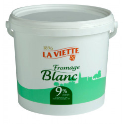 Fromage blanc 40 % MG 5 kg