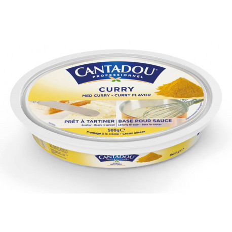 Fromage Cantadou curry 500 g
