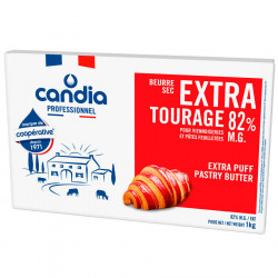 Beurre extra tourage 82 % MG 1 kg