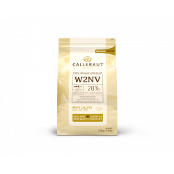 Chocolat blanc Select 28% cacao callets 2,5 kg