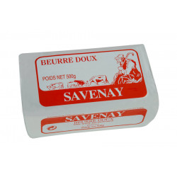 Beurre doux 82 % MG 500 g