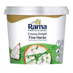Fromage à tartiner creamy delight fines herbes RAMA 1,5 kg