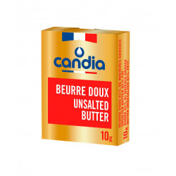 Beurre 82% MG doux micropain 10 g x 600